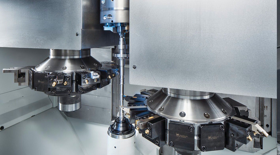 EMAG VT 2 - Modular Shaft Machining