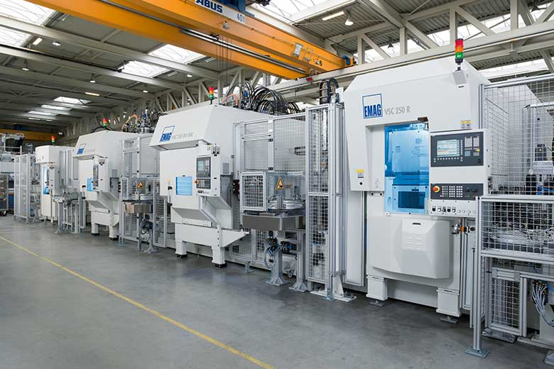 VSC Line (turning, milling, drilling)