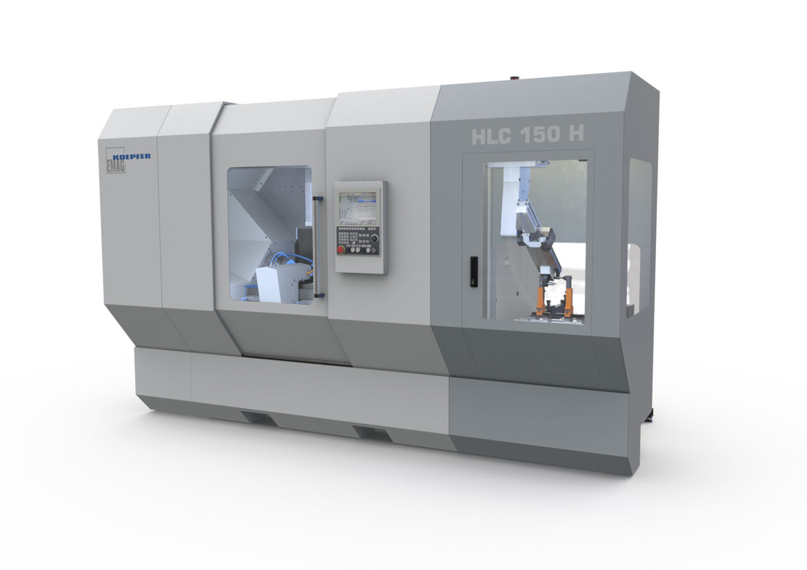 Complete Gear Cutting with HLC 150 H