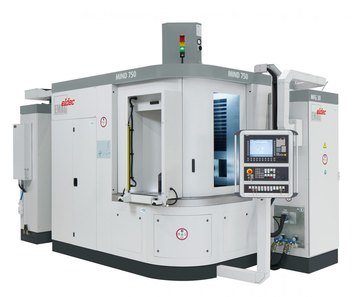 MIND Hardening Systems by eldec for Electric Motor Production