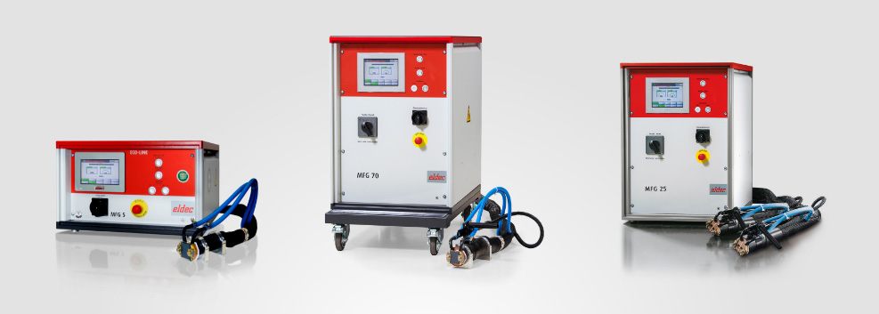 ECO LINE generators for induction heating