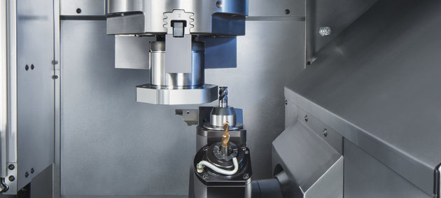 VL 4 Standard Turning Machine for chucked components