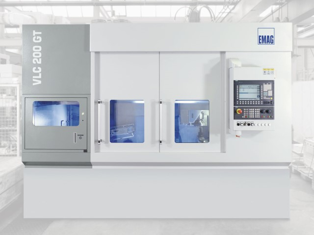 Machining components for drive technology on the VLC 200 GT from EMAG