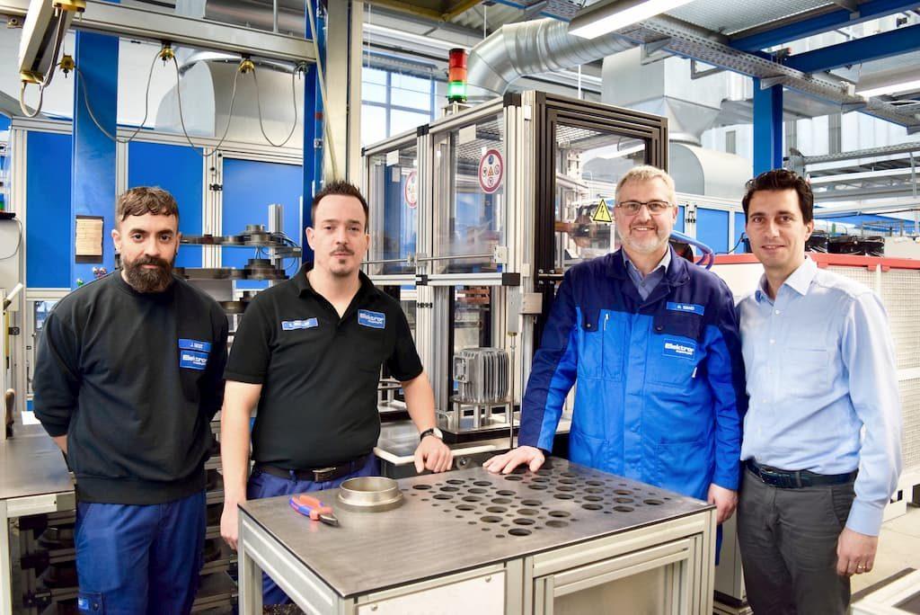 Elektror and EMAG eldec team