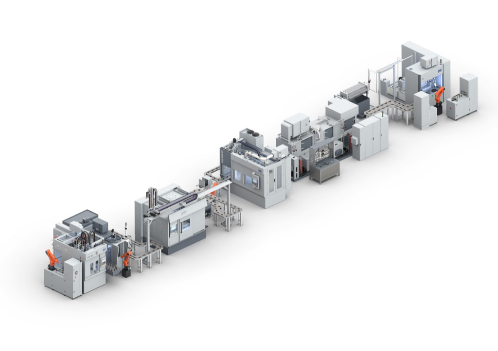 Production System for Turbocharger by EMAG