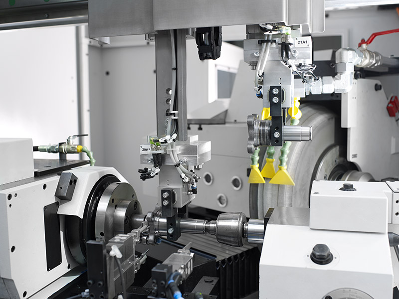 cylindrical grinding technology from WEISS.