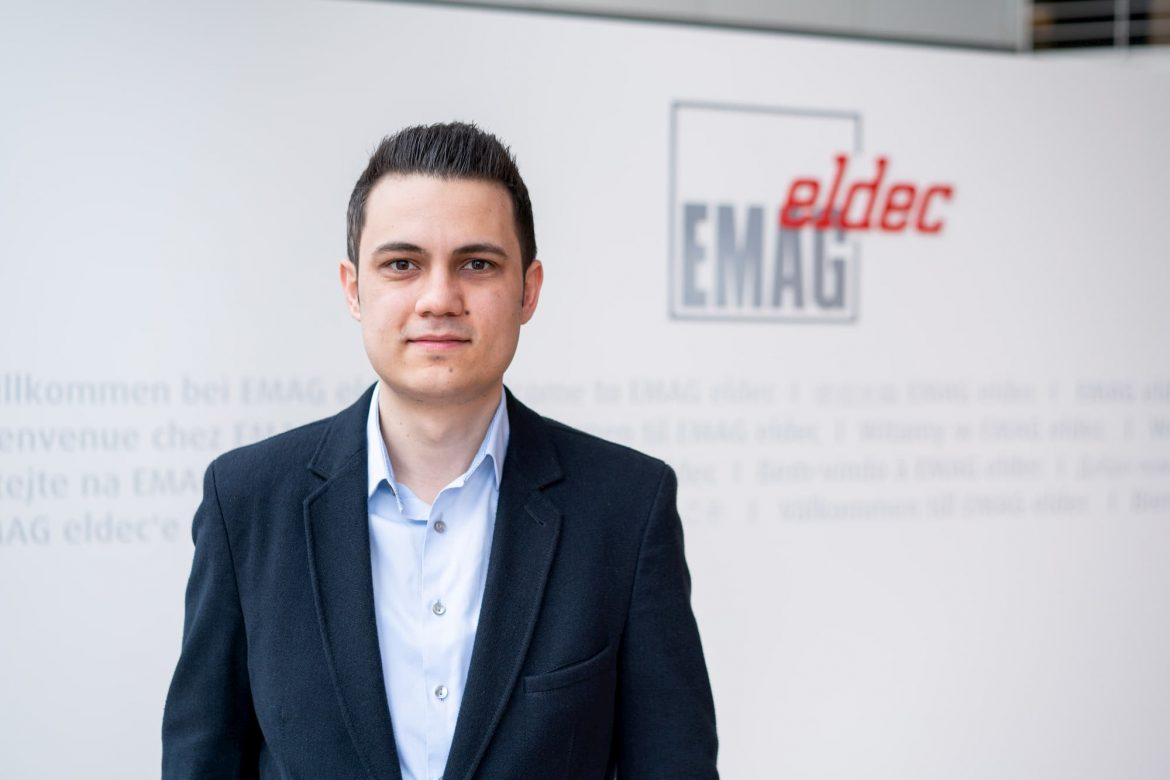 K. Yilmazli, development engineer for additive manufacturing at EMAG eldec