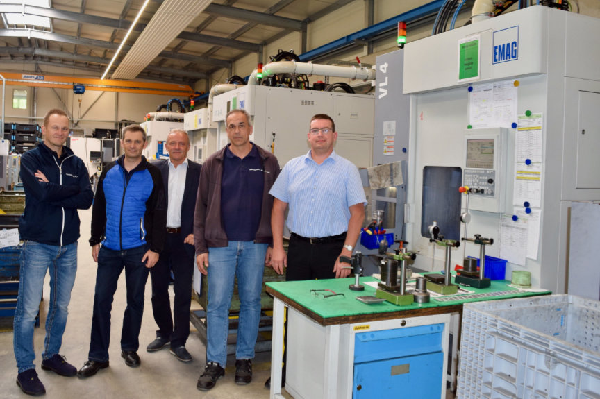 For 30 years Bäringhaus & Hunger has relied on pick-up technology from EMAG