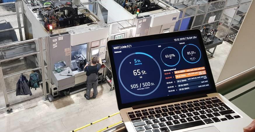 Industry 4.0: basic-level data analysis
