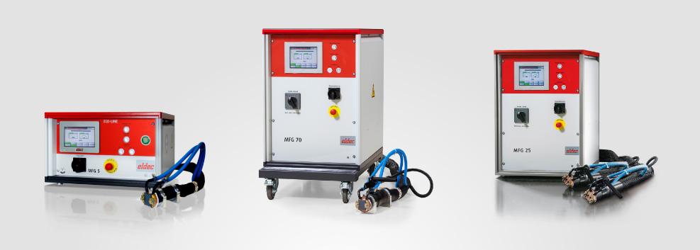 ECO LINE Generatoren für induktive Erwärmung