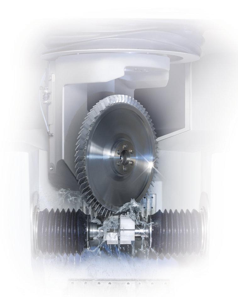 Bliskbearbeitung - Turbinenbau