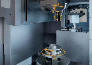 Schwerzerspanung: VMC 450-5 MT sorgt für Tempo