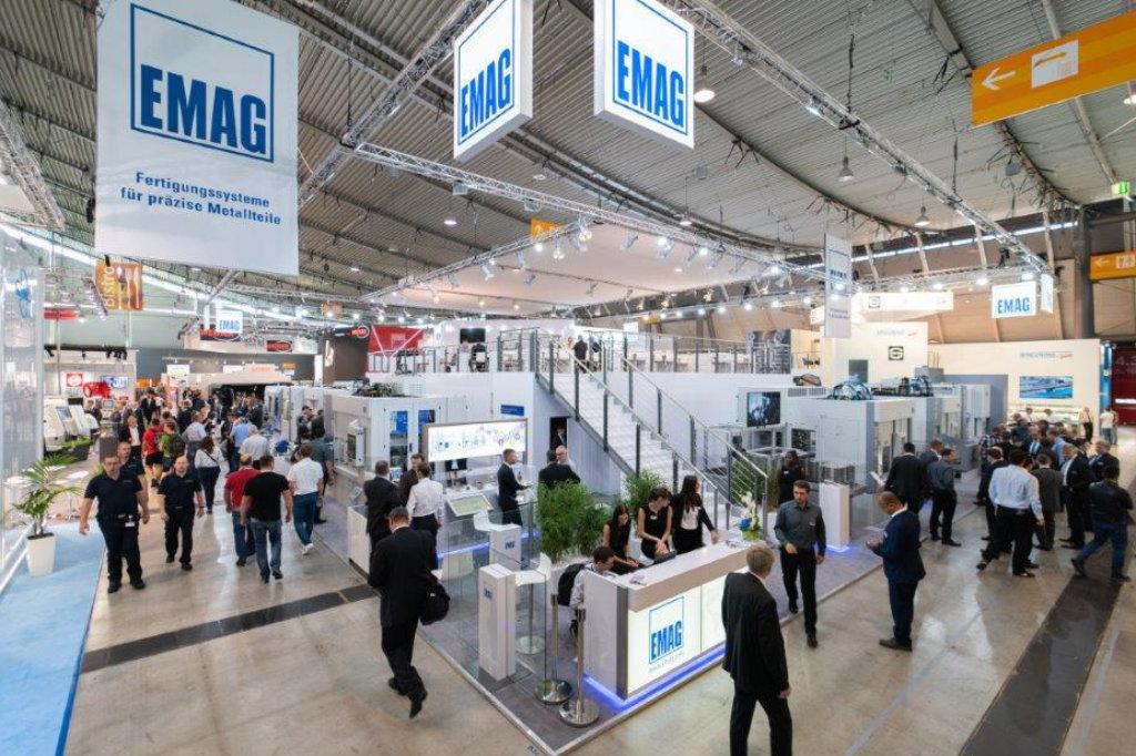 EMAG Stand auf der AMB in Stuttgart.