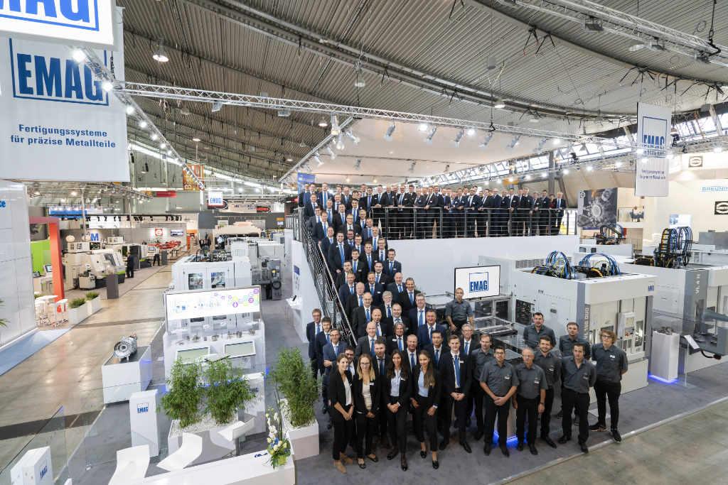 EMAG Team auf der AMB in Stuttgart