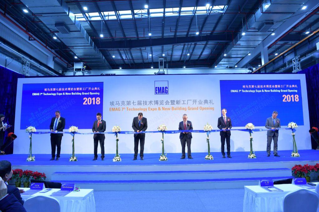 EMAG Grand Opening der neuen Maschinenhalle in Taicang, China