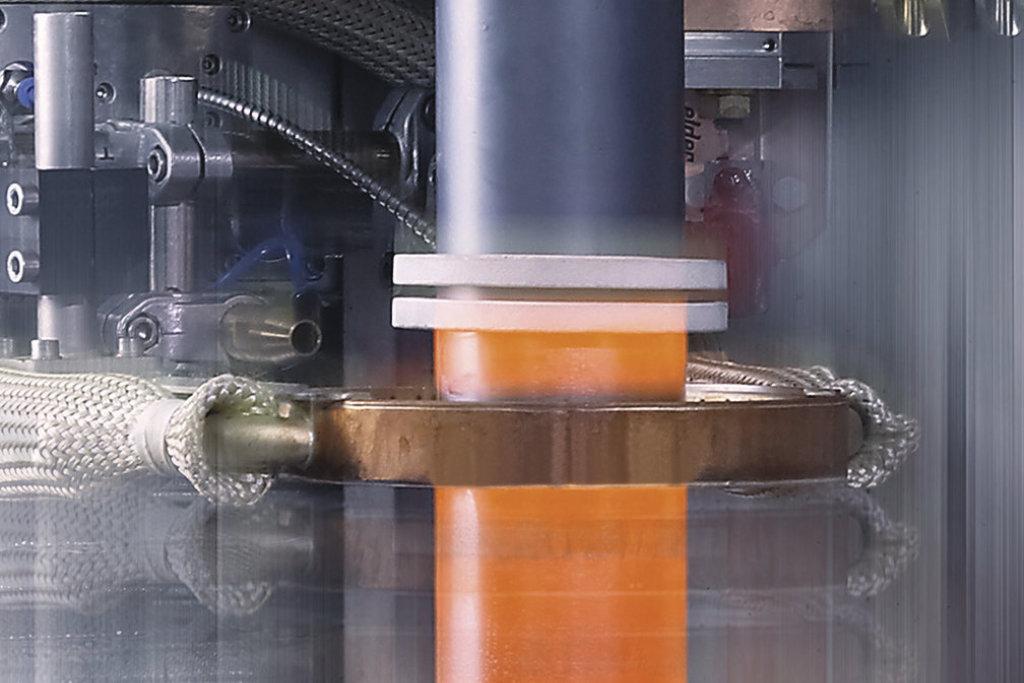 Induktive Erwärmung im Maschinenbau mit Generatoren