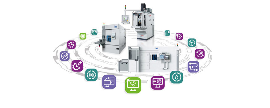 Industrie 4.0 Produkte von EMAG