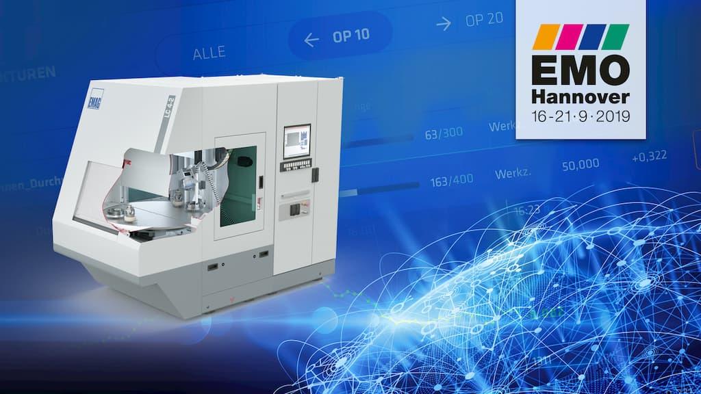 Laserreinigungsmaschine LC 4-2 auf der EMO 2019