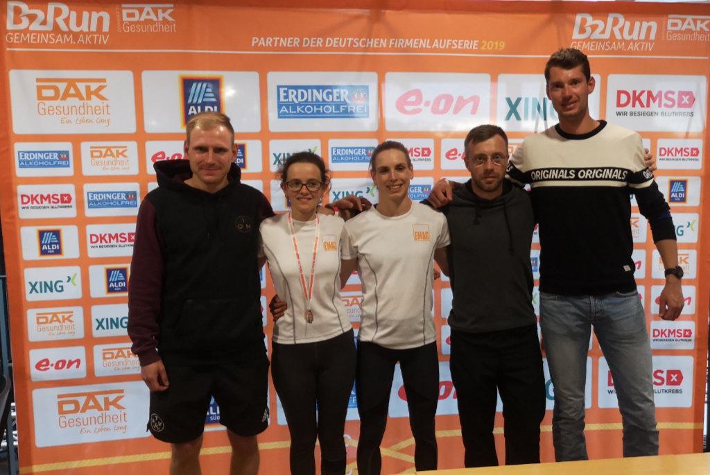Das EMAG-Team beim B2Run in Köln
