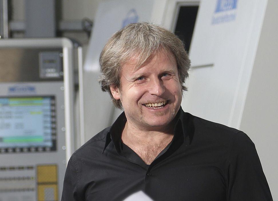 Bernd Weiss, Geschäftsführer EMAG Weiss