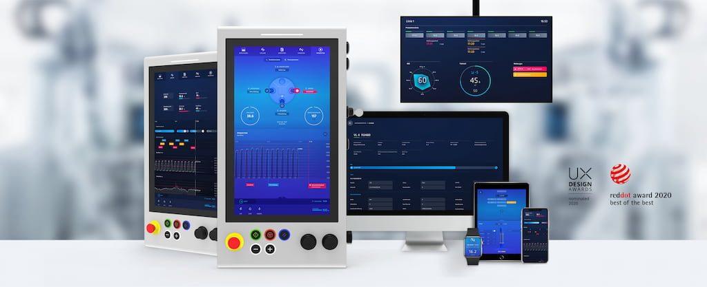 EDNA ist das Industrie-4.0-Ökosystem aus miteinander verbundenen Software- und Maschinenkomponenten von EMAG.