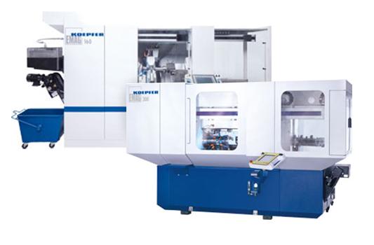 K160/K200/K300—Horizontal Hobbing Machines from EMAG KOEPFER