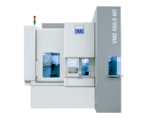 VMC 450-5 MT 5-axis machine from EMAG