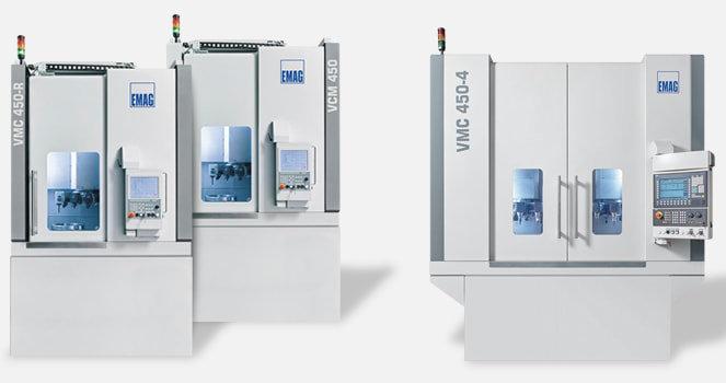 VM / VMC 기계는 크고 무거우며 외형이 복잡한 척 부품의 제작에 이상적인 생산 시스템입니다