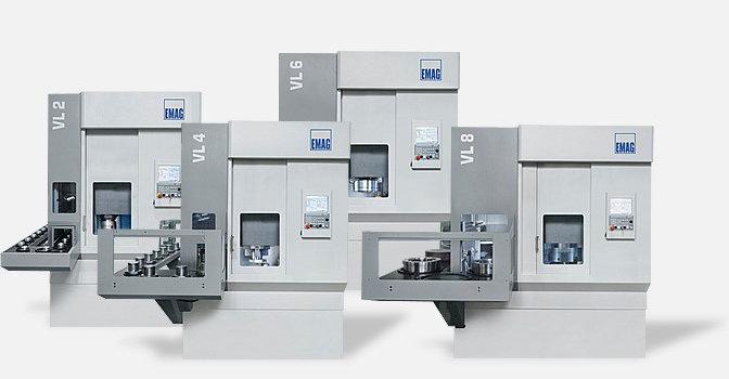 모듈형 VL – 모듈형 구조를 지닌 EMAG의 수직형 CNC 선반