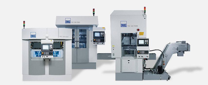 Les machines verticales à broches multiples représentent l'usinage ultra-productif de pièces prises en mandrin.